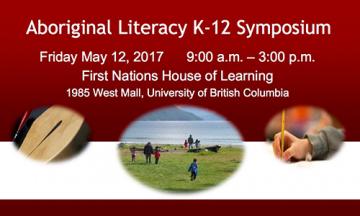 Aboriginal Literacy K to 12 Symposium