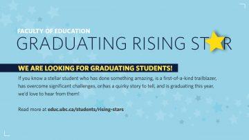 Seeking Education's Class of 2017 Rising Stars
