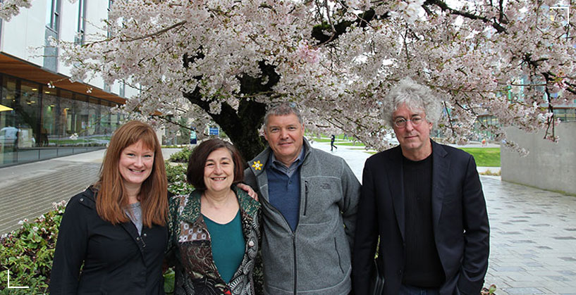 Wingspan: Dr. Kirsty Johnston (Film and Theatre), Dr. Leslie G. Roman (EDST), Dr. Steve Cardwell (EDST), Dr. Gerald Fallon (EDST).