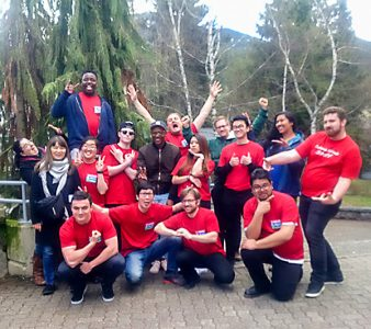 UBC students at the 2017 Whistler Cantando Music Festival.