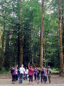 Participants at a Green Carpet Workshop.