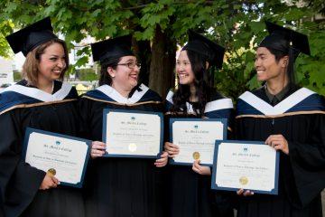 L-R: Alexandra Glinsbockel, Patricia Berlanga, Valerie Sin, Douglas Pham. Photo: Sarah Scali.