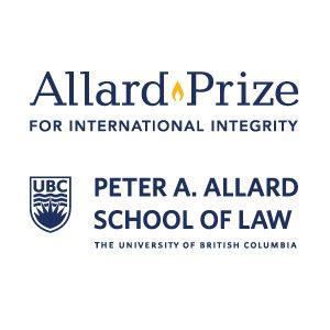 Allard Prize Ceremony Invitation