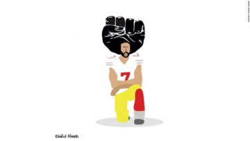"""Khartoon"" provided by Khalid Albaih. Follow @khalidalbaih and read more about the artist [HERE]."