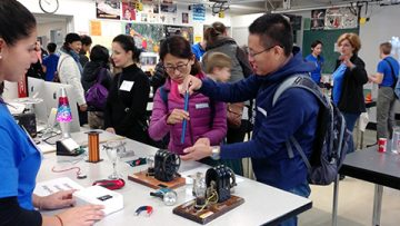7th Family Math and Science Day Recap