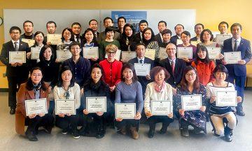 Graduates of the 2017 UBC-Jilin Program.