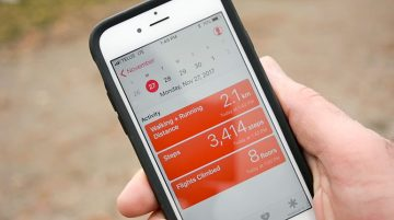 Smartphone pedometers offer opportunities to monitor health