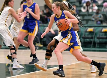 Triumphant trajectory: For UBC's Jessica Hanson, the arc of success goes beyond three-point buckets