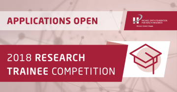 2018 MSFHR Research Trainee Competition