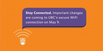 Stay Connected to UBC Wireless