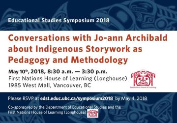 Conversations with Jo-ann Archibald about Indigenous Storywork as Pedagogy and Methodology