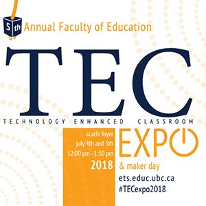 5th Annual TEC Expo – Call for proposals for faculty, students and staff