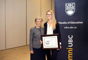 EDST MA student Annie Montague Awarded Janusz Korczak Scholarship