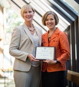 Congratulations Dr. Wendy Carron Receiving the Robert Roy Award
