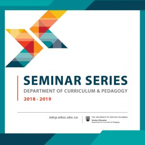 Research Seminar by Dr. Deana Leahy and Dr. Carolyn Pluim