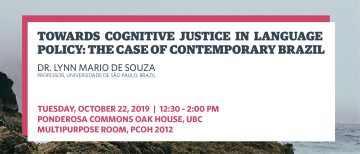 Towards Cognitive Justice in Language Policy: The Case of Contemporary Brazil