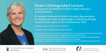 2021 Dean's Distinguished Lecture