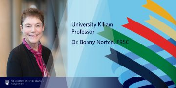 University Killam Professor in the Faculty of Education