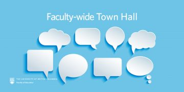 Faculty-wide Town Hall